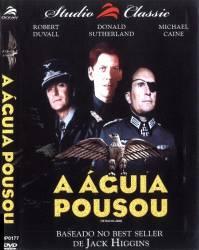 DVD A AGUIA POUSOU - GUERRA - 1976