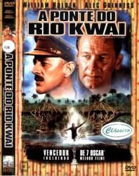 DVD A PONTE DO RIO KWAI - GUERRA - 1957