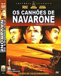 DVD OS CANHOES DE NAVARONE - GUERRA - 1961