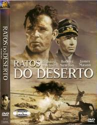 DVD RATOS DO DESERTO - LEGENDADO - GUERRA - 1953