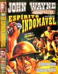 DVD ESPIRITO INDOMAVEL - JOHN WAYNE - 1945