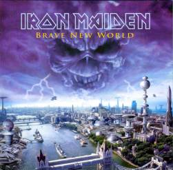 CD IRON MAIDEN - BRAVE NEW WORLD