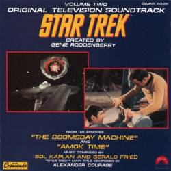 CD JORNADA NAS ESTRELAS - THE DOOMSDAY MACHINE & AMOK TIME