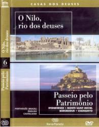 DVD NILO O RIO DOS DEUSES - PASSEIO PELO PATRIMONIO - DOC