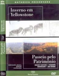DVD INVERNO EM YELLOWSTONE - PASSEIO PELO PATRIMONIO - DOC