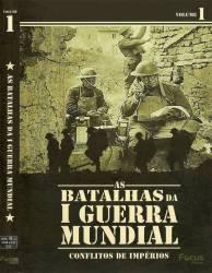DVD AS BATALHAS DA 1º GUERRA MUNDIAL - DOC - 4 DVDs