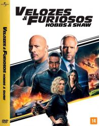 DVD VELOZES E FURIOSOS - HOBBS e SHAW