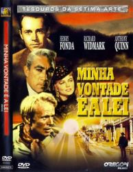 DVD MINHA VONTADE E A LEI - ANTHONY QUINN