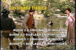 DVD CAVALGADA TRAGICA - RANDOLPH SCOTT