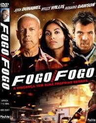 DVD FOGO CONTRA FOGO - BRUCE WILLIS
