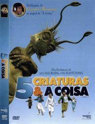DVD 5 CRIATURAS E A COISA - KENNETH BRANAGH