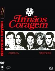 DVD IRMAOS CORAGEM - NOVELA - 8 DVDs