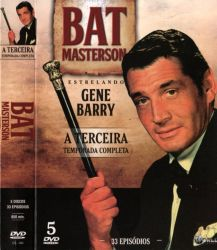 DVD BAT MASTERSON - 3 TEMP 5 DVD