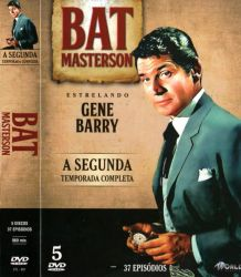 DVD BAT MASTERSON - 2 TEMP - 5 DVD