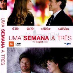 DVD UMA SEMANA A TRES - JASON BATEMAN