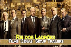 DVD REI DOS LADROES - MICHAEL CAINE