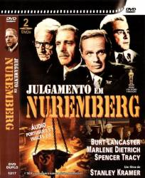 DVD O JULGAMENTO DE NUREMBERG - DUPLO - 1961