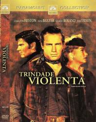 DVD TRINDADE VIOLENTA - FAROESTE - 1957 - CHARLTON HESTON