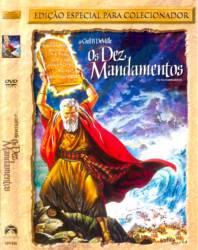 DVD OS DEZ MANDAMENTOS - DUPLO - CHARLTON HESTON
