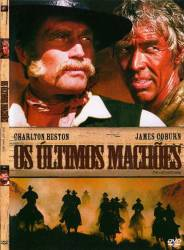DVD OS ULTIMOS MACHOES - CHARLTON HESTON