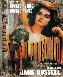 DVD O PROSCRITO - JANE RUSSELL
