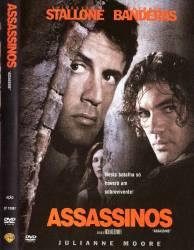 DVD ASSASSINOS - SYLVESTER STALLONE - DUBLADO