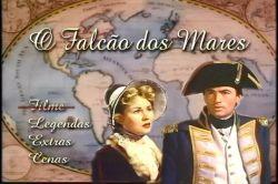 DVD O FALCAO DOS MARES - GREGORY PECK