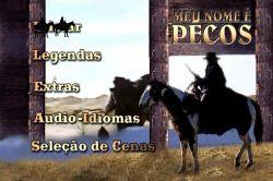DVD MEU NOME E PECOS - ROBERT WOODS