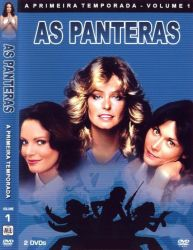 DVD AS PANTERAS - 1 TEMP - 5 DVDs