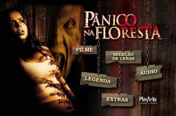 DVD PANICO NA FLORESTA - DESMOND HARRINGTON
