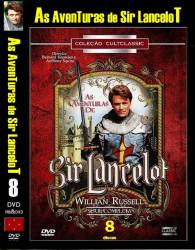 DVD AS AVENTURAS DE SIR LANCELOT - 1956 - 8 DVDs