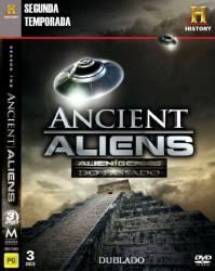 DVD ALIENIGENAS DO PASSADO - 2 TEMP - 3 DVDs