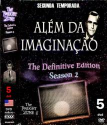 DVD ALEM DA IMAGINAÇAO - 1959 - 2 TEMP - 5 DVDs