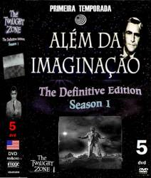 DVD ALEM DA IMAGINAÇAO - 1959 - 1 TEMP - 5 DVDs