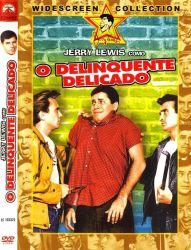 DVD O DELINQUENTE DELICADO - JERRY LEWIS - DUBLADO e LEGENDADO