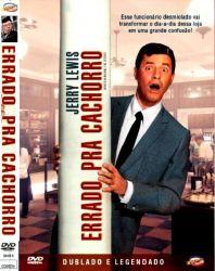 DVD ERRADO PRA CACHORRO - JERRY LEWIS