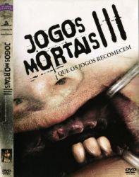 DVD JOGOS MORTAIS 3 - QUE OS JOGOS RECOMECEM