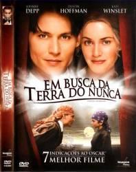 DVD EM BUSCA DA TERRA DO NUNCA