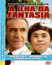 DVD A ILHA DA FANTASIA - 1 TEMP - 4 DVDs