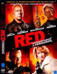 DVD RED - APOSENTADOS E PERIGOSOS - BRUCE WILLIS