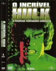 DVD O INCRIVEL HULK - 1 TEMP - 4 DVDs
