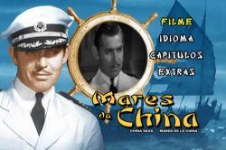 DVD MARES DA CHINA - CLARK GABLE