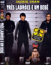 DVD TRES LADROES E UM BEBE - JACKIE CHAN