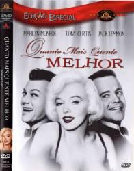 DVD QUANTO MAIS QUENTE MELHOR - 1959
