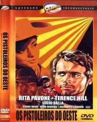 DVD OS PISTOLEIROS DO OESTE - FAROESTE - TERENCE HILL - 1967