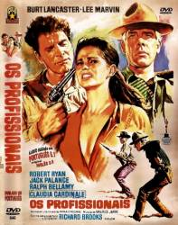 DVD OS PROFISSIONAIS - FAROESTE - BURT LANCASTER - 1966