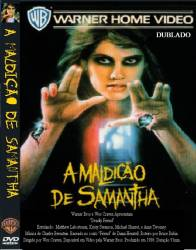 DVD A MALDIÇAO DE SAMANTHA - 1986