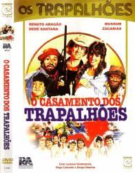 DVD OS TRAPALHOES - O CASAMENTO DOS TRAPALHOES