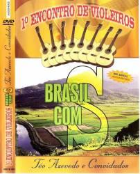 DVD TEO AZEVEDO e CONVIDADOS - 1 ENCONTRO DE VIOLEIROS - BRASIL com S