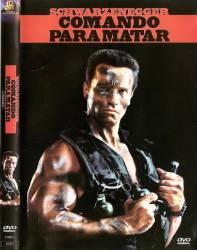 DVD COMANDO PARA MATAR - ARNOLD SCHWAZENEGGER - 1985
